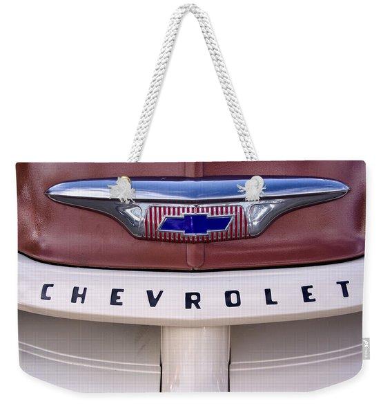 Vintage Chevy Truck Weekender Tote Bag