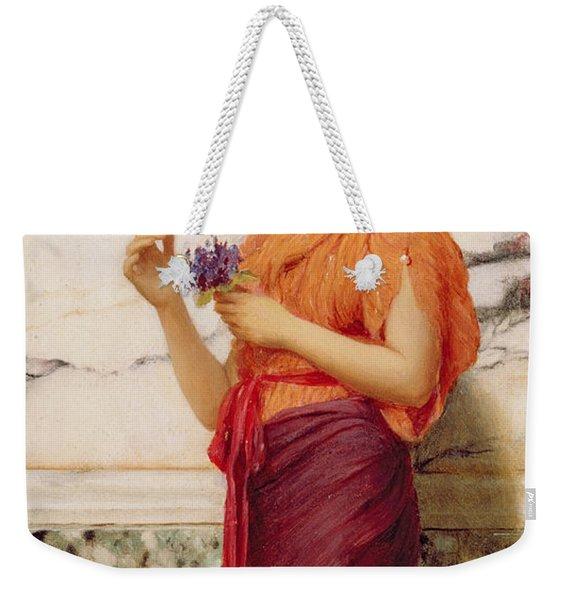 Violets Weekender Tote Bag
