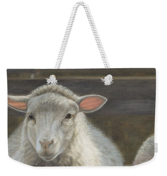 Waiting For The Shepherd Weekender Tote Bag