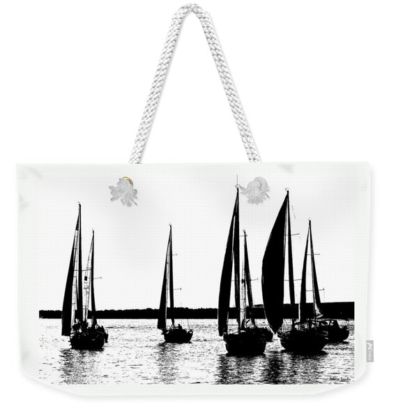 Waiting On The Wind Weekender Tote Bag
