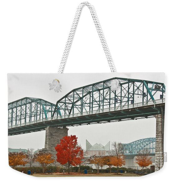 Walnut Street Bridge Weekender Tote Bag