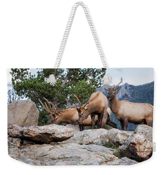 Wapiti Weekender Tote Bag