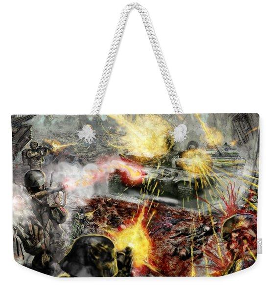 Wars Are Designed To Destroy  Weekender Tote Bag