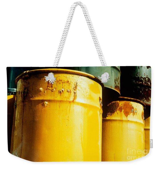 Waste Drums Weekender Tote Bag