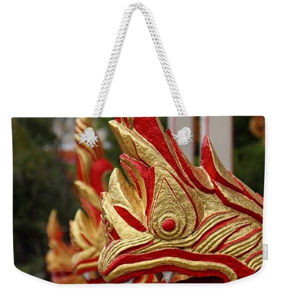 Wat Chalong 3 Weekender Tote Bag