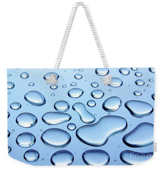 Water Drops Weekender Tote Bag