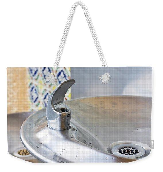 Water Fountain Weekender Tote Bag