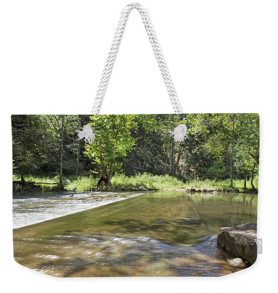 Water Over The Bridge Weekender Tote Bag