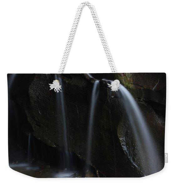 Waterfall On Emory Gap Branch Weekender Tote Bag
