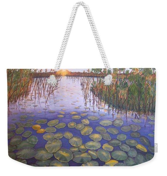 Waterlillies South Africa Weekender Tote Bag