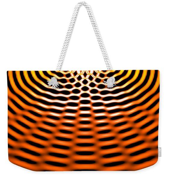 Waves Superpositioning 4 Weekender Tote Bag