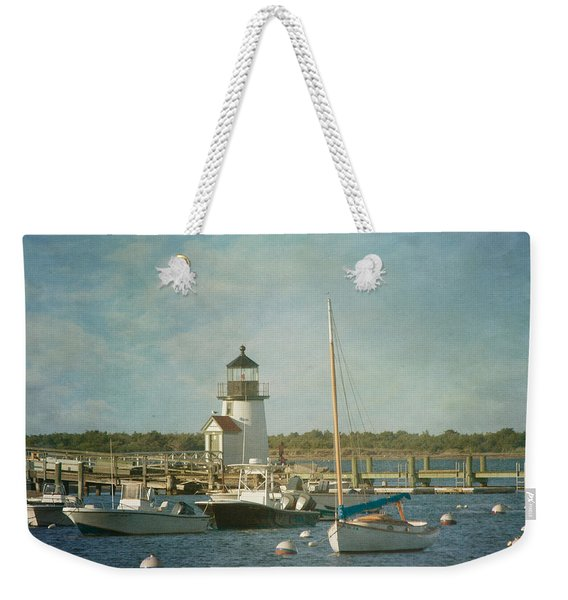 Welcome To Nantucket Weekender Tote Bag