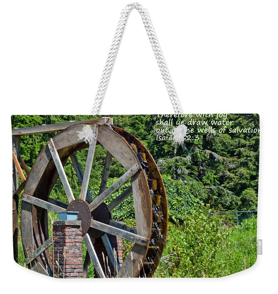 Wells Of Salvation Weekender Tote Bag