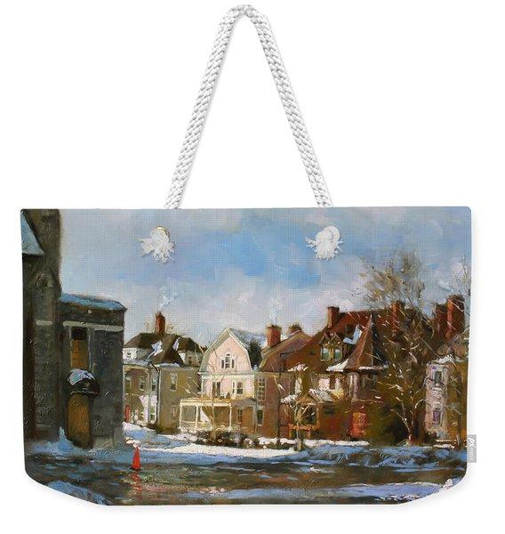 West Ferry Street Weekender Tote Bag