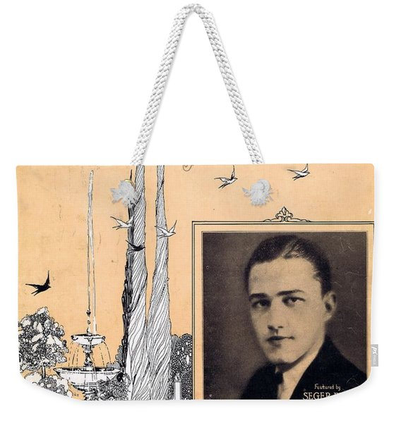 When Summer Is Gone Weekender Tote Bag