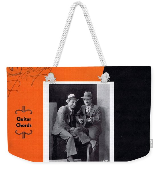 When The Work's All Done This Fall Weekender Tote Bag
