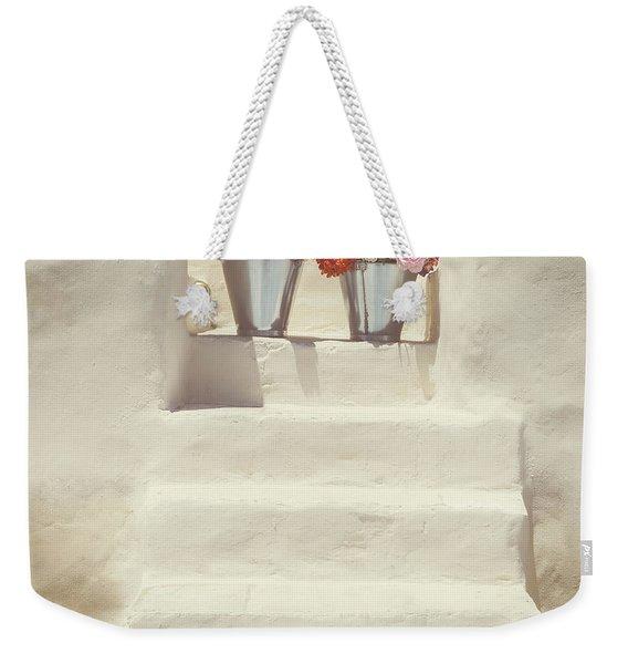 White Steps Weekender Tote Bag