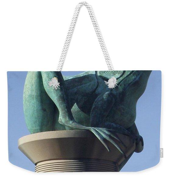 Willimantic Frog Bridge Weekender Tote Bag