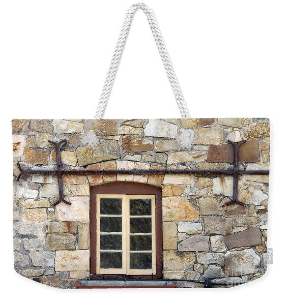 Window Into The Past Weekender Tote Bag