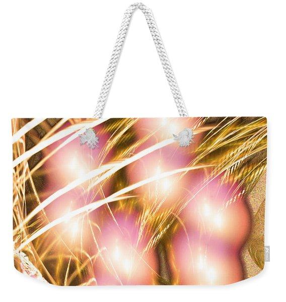 Windy Eight - Abstract Art Weekender Tote Bag