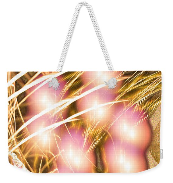 Windy Eight - Abstract Art Weekender Tote Bag