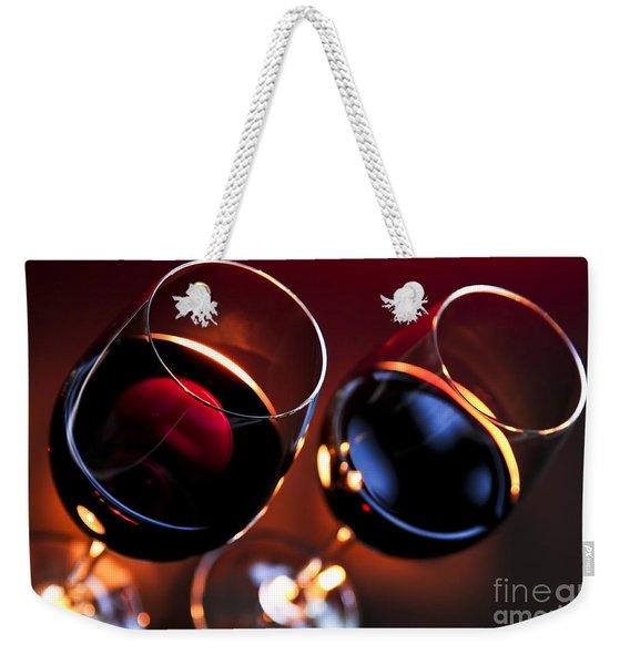 Wineglasses Weekender Tote Bag