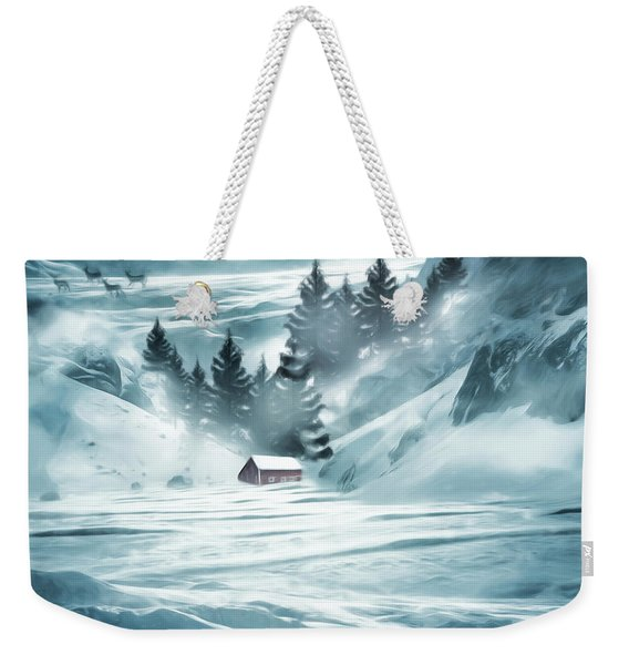 Winter Seclusion Weekender Tote Bag