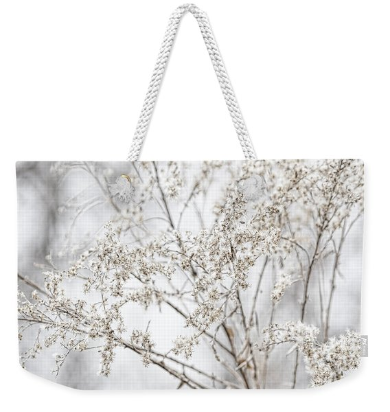 Winter Sight Weekender Tote Bag