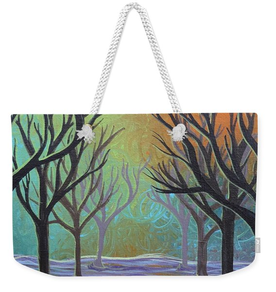 Winter Solitude 11 Weekender Tote Bag