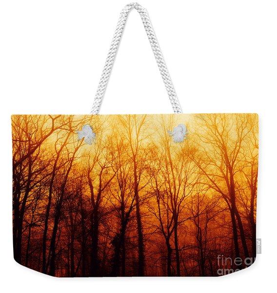 Winters Harvest Weekender Tote Bag