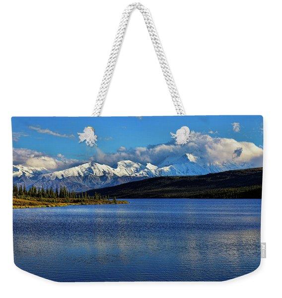 Wonder Lake Weekender Tote Bag
