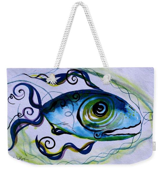 Wtfish 009 Weekender Tote Bag