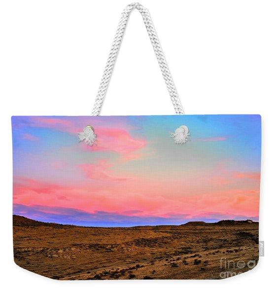 Wyoming Lights Weekender Tote Bag