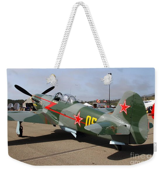Yak 9u Airplane . 7d15792 Weekender Tote Bag