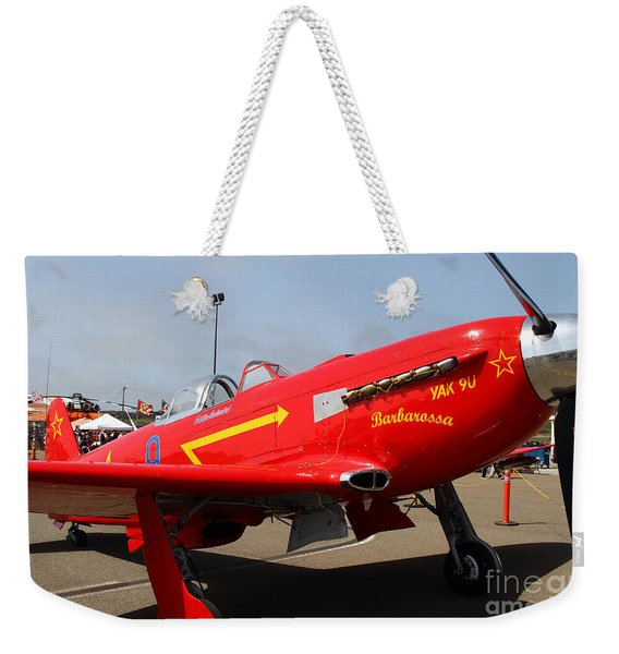 Yak 9u Airplane . 7d15795 Weekender Tote Bag