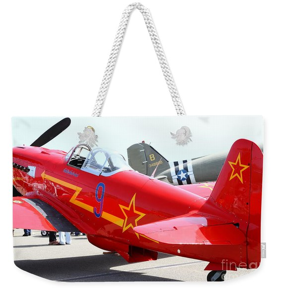 Yak 9u Airplane . 7d15801 Weekender Tote Bag