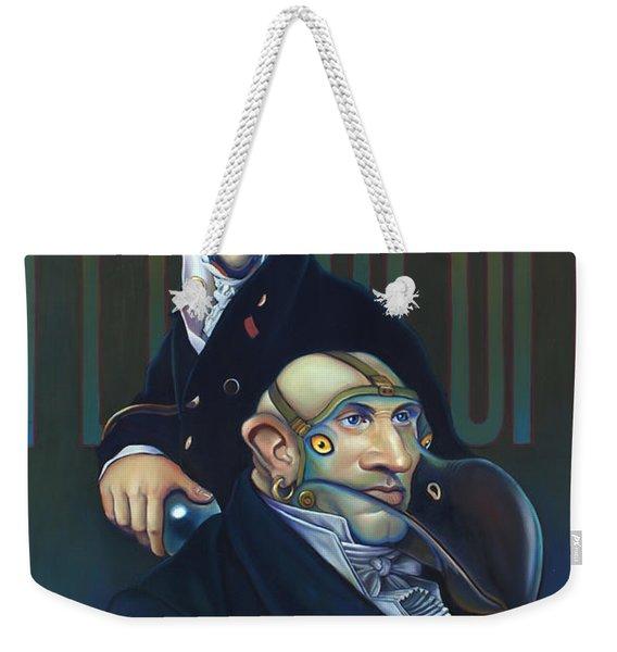 Yak Andrew Bienstjalk Weekender Tote Bag