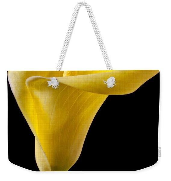 Yellow Calla Lily Weekender Tote Bag
