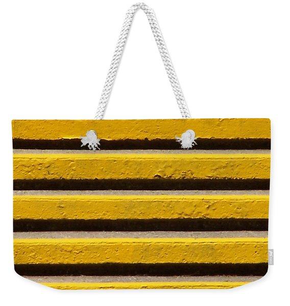 Yellow Steps Weekender Tote Bag