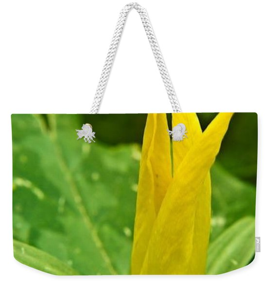 Yellow Trillium 1 Weekender Tote Bag