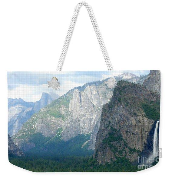 Yosemite Bridalveil Fall Weekender Tote Bag