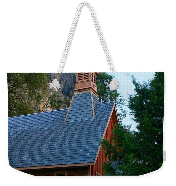 Yosemite Chapel Weekender Tote Bag