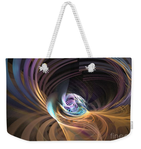 Your Inner Cosmos Exceeds The Outer One Weekender Tote Bag