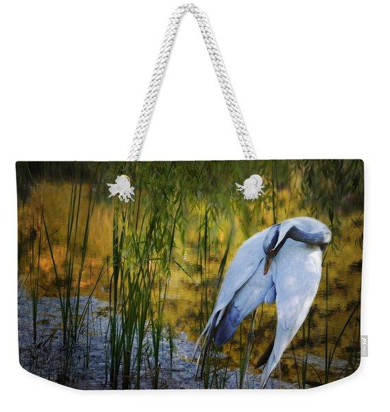 Zen Pond Weekender Tote Bag