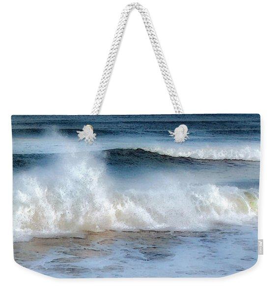 Zen Wave Weekender Tote Bag