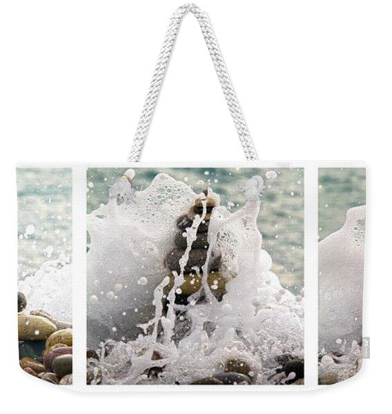 Balance And Energy Weekender Tote Bag