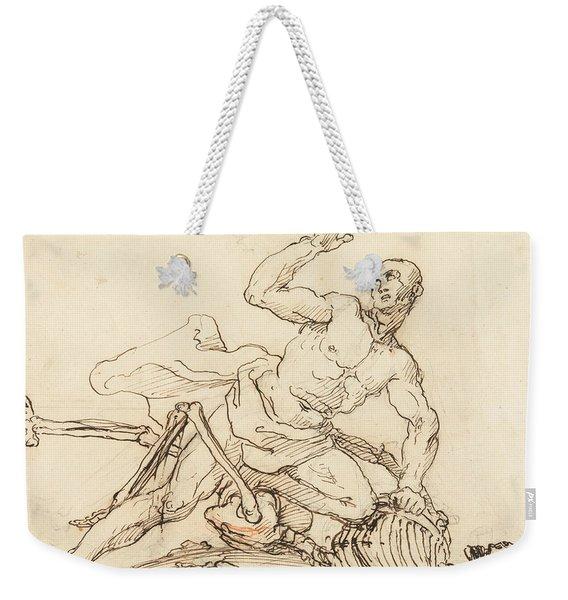 George Taylor's Epitaph - George Taylor Breaking The Ribs Of Death  Weekender Tote Bag