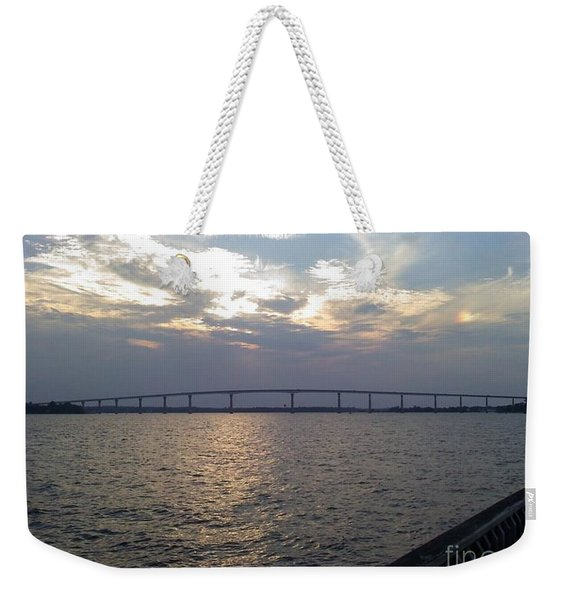 Gov Thomas Johnson Bridge Weekender Tote Bag