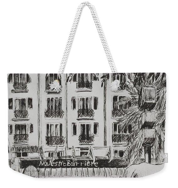 Majestic  Cannes Weekender Tote Bag