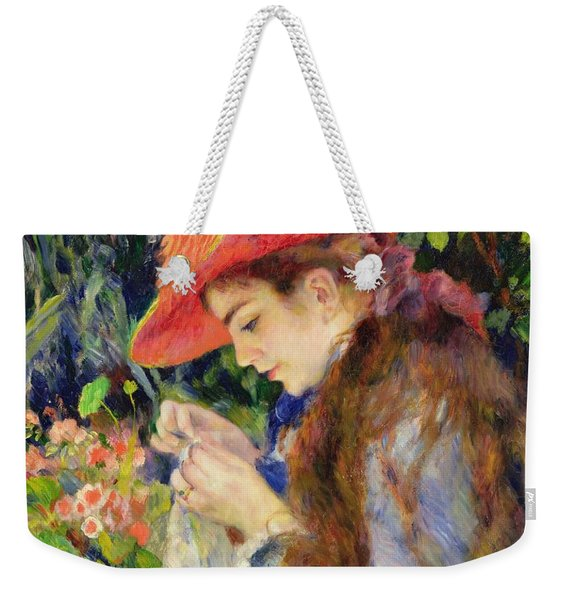 Marie Therese Durand Ruel Sewing Weekender Tote Bag